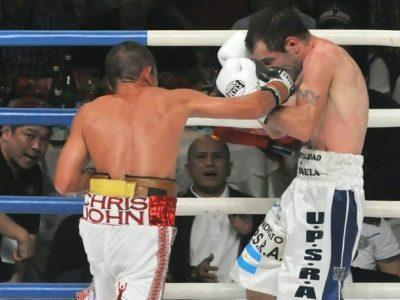 Крис Джон защитил титул чемпиона мира WBA