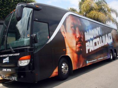 ФОТО: Мэнни Пакьяо отправляется в Лас-Вегас