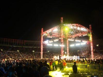 Бой Чавес-младший — Ли посетило менее 14 тысяч зрителей