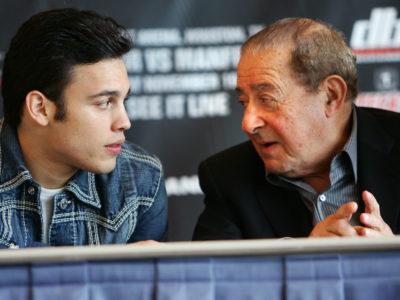 Чавес — младший встретится с Арумом для обсуждения боя с Мартинесом