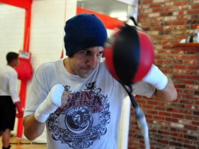 ФОТО: Тренировка Молины перед боем с Демарко