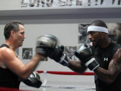 ФОТО: Доусон продолжает подготовку к бою с Уордом