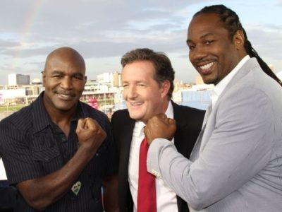 ФОТО: Льюис и Холифилд на Олимпиаде