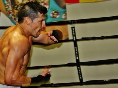 ФОТО: Мартинес продолжает подготовку к бою с Чавесом мл.