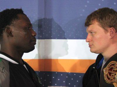 ФОТО: Заключительная пресс-конференция Поветкина и Рахмана в Гамбурге