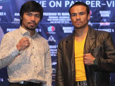 Пресс-конференция Пакьяо — Маркес IV (высказывания боксеров + фото)