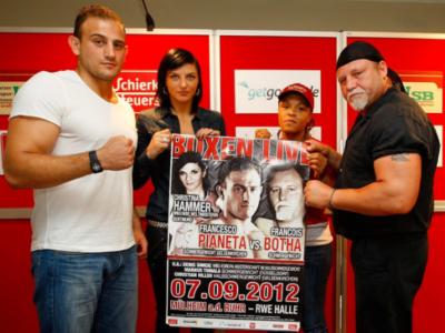 Пресс-конференция Бота — Пианета (высказывания боксеров + фото)