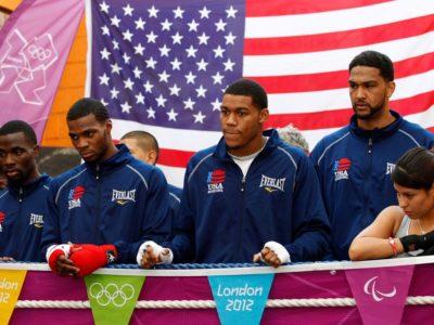 Хэймон подписал контракт с 5 американскими олимпийцами