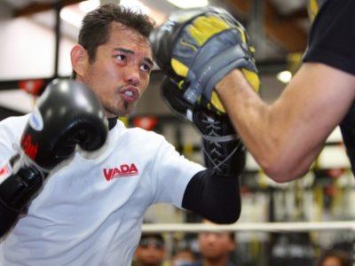 ФОТО: Донэр продолжает подготовку к бою с Нишиокой