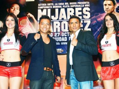 Официально: Маркес встретится с Михаресом + ФОТО