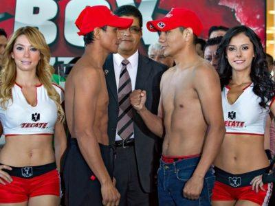Взвешивание в Мехико: Маркес — 55,3 кг; Михарес — 55,3 кг + ФОТО