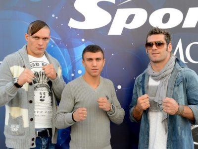 Ломаченко и Усик подписали контракты с WSB