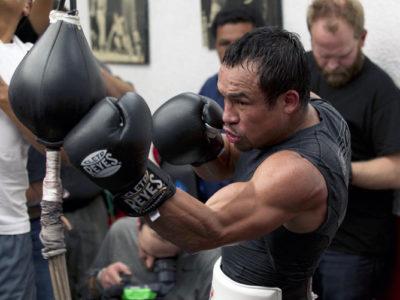 Открытая тренировка Маркеса в преддверии боя против Пакьяо (+ фото)