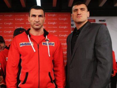 Пресс-конференция Кличко — Вах (высказывания боксеров)