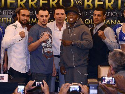 Финальная пресс-конференция Герреро — Берто, Кинтана — Турман (высказывания боксеров перед боем + фото)