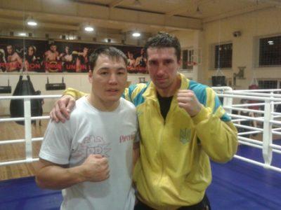 ФОТО: Сенченко и Проводников после спарринга