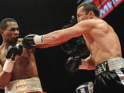 Лебедев нокаутировал Сильгадо в 4 раунде!