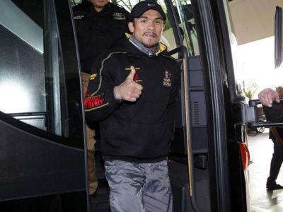 ФОТО: Хуан Мануэль Маркес прибывает в Лас-Вегас