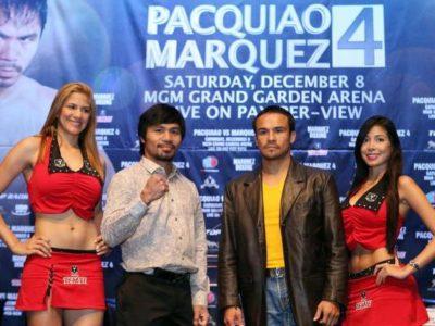 Пакьяо и Маркес лицом к лицу на финальной пресс-конференции (высказывания боксеров перед боем + видео)