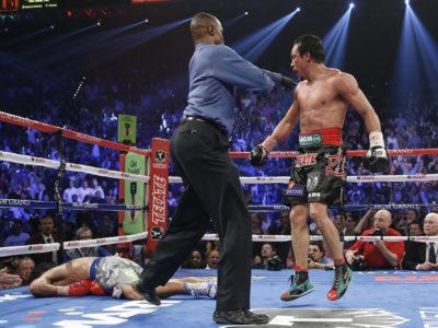 Пакьяо отстранен от бокса на 4 месяца