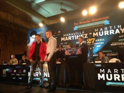 ФОТО: Мартинес и Маррей встретились на пресс-конференции в Аргентине