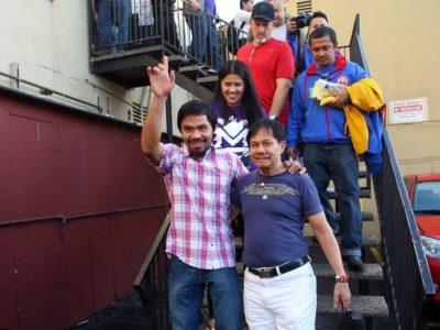 ФОТО: Пакьяо и Маркес отправляются в Лас-Вегас
