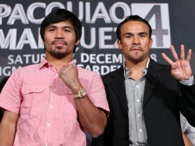 Пакьяо и Маркес успешно прошли допинг-тесты