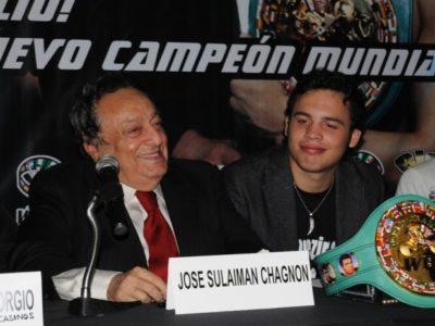 Сулейман поддержит Чавеса мл. в случае длительной дисквалификации