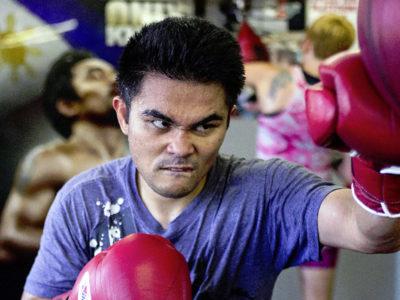 Вилориа приступил к тренировкам в Wild Card Gym