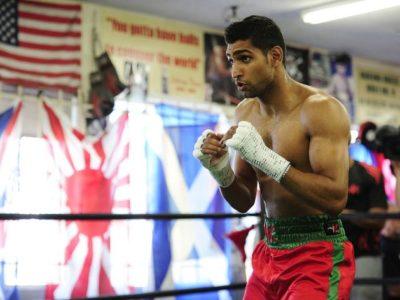 Амир Хан выйдет в ринг 27 апреля в Англии
