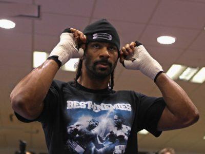 Дэвид Хэй объявит о своем возвращении в бокс в четверг