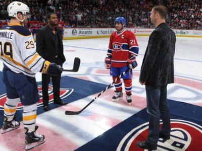 ФОТО: Паскаль и Буте на игре Монреаль Канадиенс