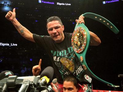 Виктор Террасас завоевал титул WBC + ФОТО