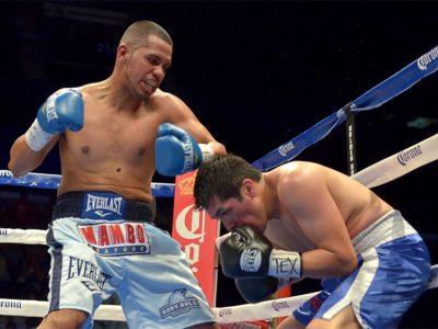 Хуан «Бычок» Диас успешно возвращается на ринг после трехлетнего простоя и останавливает Пипино Куэваса в 6-м раунде