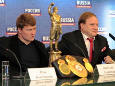 Хрюнов: Основными претендентами на бой с Поветкиным 17 мая являются Анджей Вавжик и Джо Хэнкс