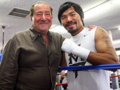 Арум: Соперником Пакьяо в сентябре станет либо Маркес, либо Брэдли, но никак не Риос
