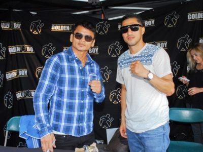 ФОТО: Майдана и Лопес на игре LA Galaxy