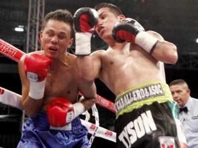 Маркес победил Тамару в элиминаторе WBO + ФОТО