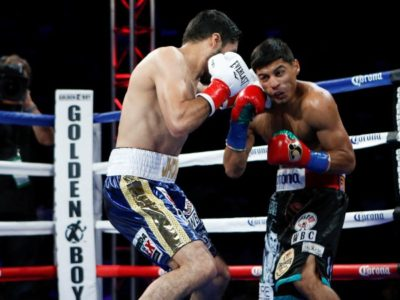 Апсет: Гонсалес нокаутировал Мареса в 1 раунде!!!
