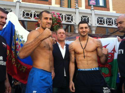 Клеверли и Ковалев прошли официальное взвешивание + ФОТО