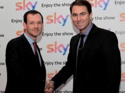 Sky Sports будет показывать бои Matchroom Boxing до 2016 года