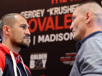 WBO: решение о статусе поединка Ковалев – Шабранский будет принято на этой неделе
