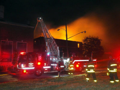 В Детройте сгорел легендарный боксерский зал Kronk Gym