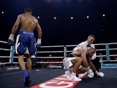 Крис Юбенк-младший нокаутировал Авни Йилдирима в 3 раунде