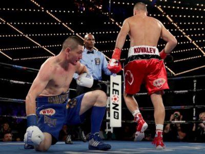 Ковалев нокаутировал Шабранского и вернул себе пояс WBO!