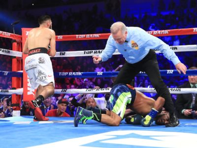 Рамирес уничтожил Рида и сразится за титул WBC c Имамом