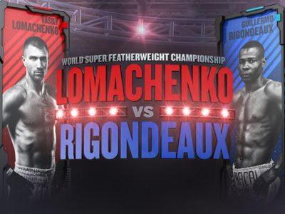 Ригондо может потерять пояс WBA, если проиграет Ломаченко
